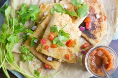 Who needs cheese? Smashed white beans and avocado make these quesadillas delicious even without the queso.