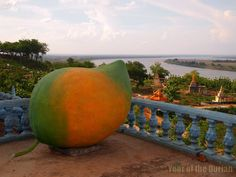 Fruity Temple in Kampong Cham, Cambodia Photo Essay