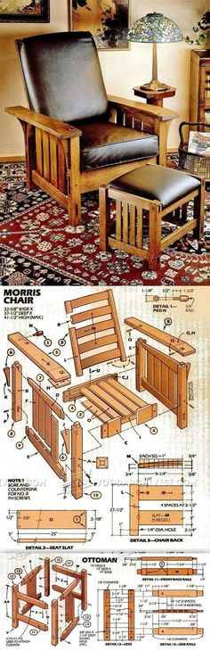 DIY Morris Chair - Furniture Plans and Projects   WoodArchivist.com