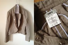 No,PM-002  Bolero Jacket  Cotton Gauze(cotton 100%)  Size 38(L=51.5cm B=86cm)  ¥23,100(JYE)