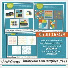Love this! // Build Your Own Template: Vol 1 by Nettio Designs
