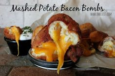 ~Mashed Potato Bacon Bombs!