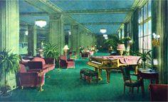 Ambassador Hotel lobby circa 1920s 1930s - Ambassador Hotel (Los Angeles) - Wikipedia, the free encyclopedia