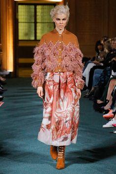 Huishan Zhang Fall 2017 Ready-to-Wear Fashion Show