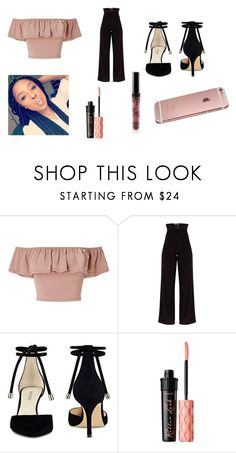 """Untitled #133"" by lalashotspot on Polyvore featuring Miss Selfridge, Nine West, Benefit and Kylie Cosmetics"