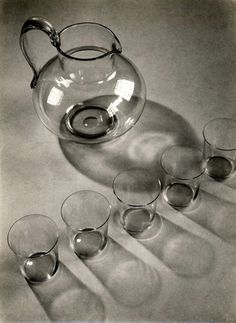 Josef Sudek, Studie zu Sutnar Glas