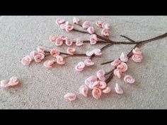 Welcome springtime handembroidery frenchknots sakura cherryblossom dsfloral pink floralembroidery abmspring dmcembroidery…Embroidered cherry blossom tree leisha s galaxy embroidery – Artofitsatin and silk ribbon embroiderybeautiful flower embroidery, Hand Embroidery Videos, Hand Embroidery Tutorial, Creative Embroidery, Hand Embroidery Stitches, Silk Ribbon Embroidery, Hand Embroidery Designs, Flower Embroidery, Embroidery Ideas, Cherry Flower