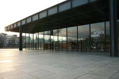 Berlin, Neue Nationalgalerie #Berlin #Architecture #MiesVanDerRohe