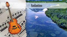 Partitura y Tablatura Andantino F. Carulli Guitarra Acústica