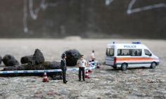 Little wonders  Street artist Slinkachu explains why he's driven to create witty scenes in miniature