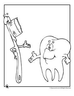 Top 10 Free Printabe Dental Coloring Pages Online | Coloring Pages ...