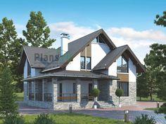 Проект дома 55-91 - купить проект, стоимость строительства коттеджа