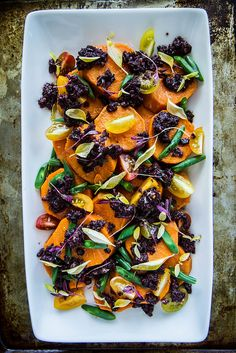 Mediterannean Sweet potato Salad