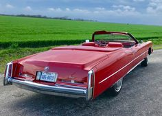 Bid for the chance to own a 1974 Cadillac Eldorado Convertible at auction with Bring a Trailer, the home of the best vintage and classic cars online. Cadillac Eldorado, Cadillac Ct6, Cadillac Fleetwood, Rambler American, Vintage Cars, Antique Cars, Convertible, Classic Cars Online, Cool Trucks