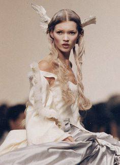 kate moss at john galliano spring/summer 1993