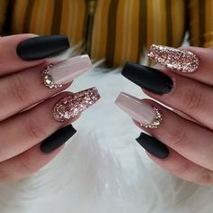 74 Nail Designs Ideas for 2019 - Nails - # For .- 74 Nail Designs Ideas for 2019 – Nails – # For - Dark Nail Designs, Acrylic Nail Designs, New Years Nail Designs, Nail Art Designs, Wedding Nails Design, Black Wedding Nails, Burgundy Wedding, Dark Nails, Black Coffin Nails