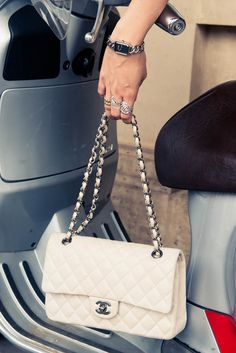 In the bag. #CHANEL www.thecoveteur.com/chanel_premiere_watch