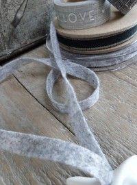 Rol lint grijs vilt | - Stationery | WWW.ZINKENZO.NL