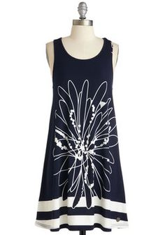 4f196c893d4 Ain t It Sunny Dress. You can count on this white and navy sundress