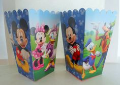 Set of 8 Disney Mickey Mouse Clubhouse by CraftyPartyCorner