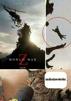 World War Z That Day I Was Fucking Crazy - Funny Memes. The Funniest Memes worldwide for Birthdays, School, Cats, and Dank Memes - Meme Crazy Funny Memes, Really Funny Memes, Funny Animal Memes, Stupid Memes, Funny Relatable Memes, Funny Jokes, Funny Animals, Lmfao Funny, Funny Comedy
