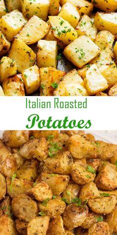 ✓ Italian Roasted Potatoes | Welcome My Cook Zone