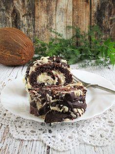 PaleoLét kókuszos csokoládés piskótaroládÉrdemes megvárni amíg a krém teljesen megdermed,az unokáim türelmetlenek voltak,a tekercs nagyon finom,ízlett nekik két kézzel tolták befelé,csokisak maszatosak voltak,jó volt látni őket nagyon,hogy ízlett nekik.Hozzávalók:1 gáztepsihez6 ek. PaleoLét l