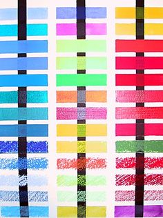 Transparent Watercolor Chart | have you ever applied a thin glaze of color only