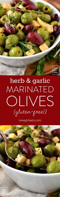 Herb and Garlic Marinated Olives are an easy yet impressive, gluten-free appetizer recipe you can whip together several days ahead of a party or get together. Whelp, I've officially become a pregnanc