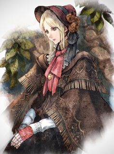 Bloodborne doll fanart by マキムラシュンスケ