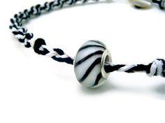 Summer zebra anklet  Hemp macrame and braided jewelry by BeachPlumCottage, $16.50 Hemp Jewelry, Macrame Jewelry, Unique Jewelry, Anklets, Cufflinks, Braids, Trending Outfits, Handmade Gifts, Summer