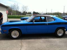 My Boyfriend's 1973 Plymouth Duster!!!! <3
