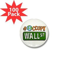 Hashtag Occupy GLOBAL Wall Street OWS WE ARE THE 99% 1 inch Mini Pinback Button 100-PACK  http://www.beststreetstyle.com/hashtag-occupy-global-wall-street-ows-we-are-the-99-1-inch-mini-pinback-button-100-pack/