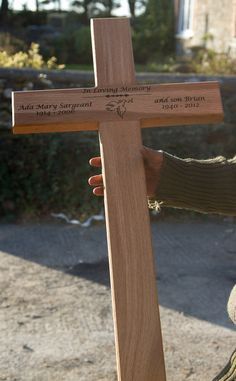 Buy Grave Markers And Wooden Cross For Graves Online