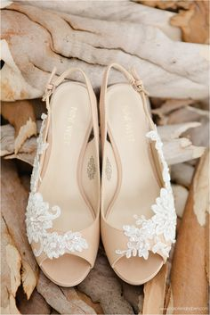 Shoes to match your gown. Shoes:  Nine West & WHite Lilly Bridal Image: Carolien and Ben Photography