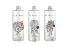 Shampoo-Packaging design