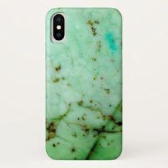 Gemstone Series - Green Jade iPhone X Case - chic design idea diy elegant beautiful stylish modern exclusive trendy