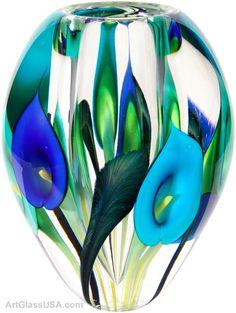 Calla lily vase~beautiful~