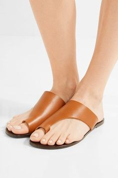 Slight heel Tan leather Slip on Designer color: Dark Natural Made in Italy