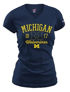 Michigan Wolverines Womens Jersey