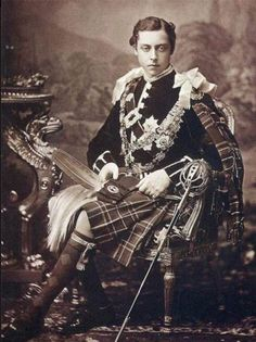 Queen Victoria's son - Prince Leopold, Duke of Albany. He was a hemophiliac who died tragically at a young age.