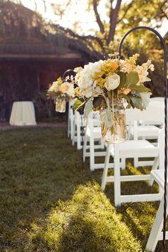 Simple Outdoor Wedding Ideas   simple outdoor wedding decorations   Future Mrs. Fergs