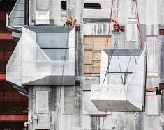 The Silo, Copenhagen - Galvanizers Association Decor Interior Design, Interior Decorating, End Of Spring, Modular Housing, Grain Silo, Concrete Structure, Create Space, Copenhagen, Home Art