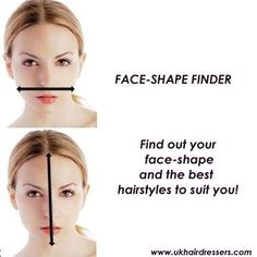 PERSONALISED FACESHAPE FINDER!! Get a personalised analysis of what hairstyles suit your face! Click here for more information