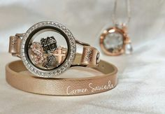 Rose gold is super popular right now! What do you think of it? #RoseGold #OrigamiOwl