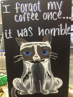 Oh hell yeah. Coffee Talk, Coffee Is Life, Coffee Coffee, Coffee Humor, Grumpy Kitty, Funny Grumpy Cat Memes, Crazy Cat Lady, Crazy Cats, Angry Cat