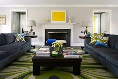 color of couches with gray walls