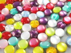 100pcs 12mm Mini Cat Eye Plastic Buttons for Kid's Sewing Crafts Lots Mix >>> Continue to the item at the image link.