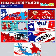Chile, Png Format, Templates, Etsy, Image, Corporate Photography, Fiestas, September, Cute