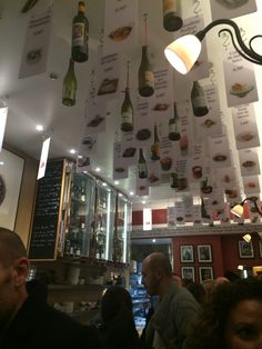 Innovative menu presentation @ L'Avant-Comptoir, Paris 6